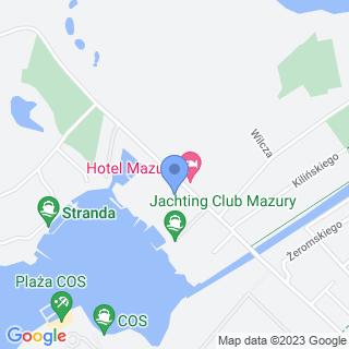 """Stowarzyszenie """"Rotary Club"""" Giżycko na mapie"""