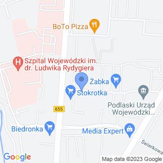 Przedszkole nr 5 z Oddziałem Integracyjnym w Suwałkach na mapie