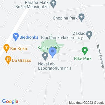Akademia Dzieci Ciekawych Świata Niepubliczne Przedszkole w Suwałkach map.on