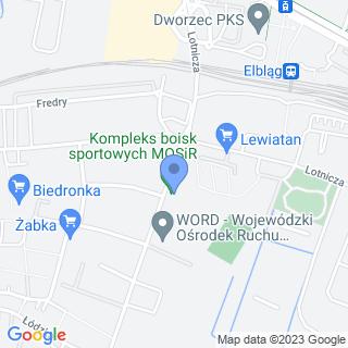 "Elbląski Klub Sportowy ""Mlexer"" na mapie"