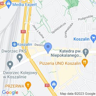 Rotary Club Koszalin na mapie