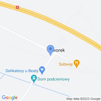 """""""Cztery Kąty"""" Dom dla Seniora map.on"""