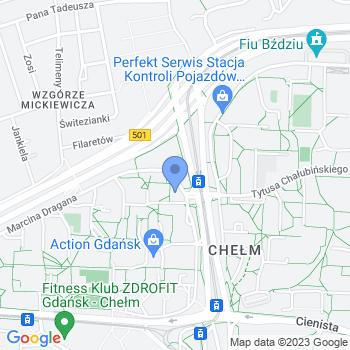 Polska map.on
