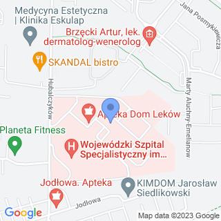 Dom Leków na mapie