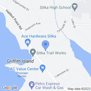Sitka Community Hospital on a map