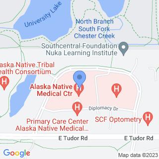 Alaska Native Medical Center on a map