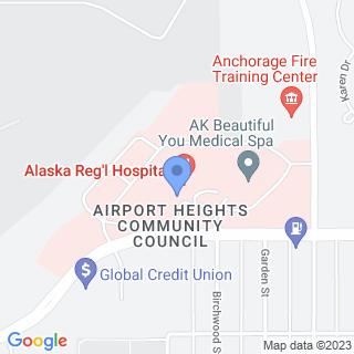 Alaska Regional Hospital on a map