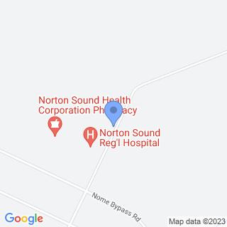 Norton Sound Regional Hospital on a map