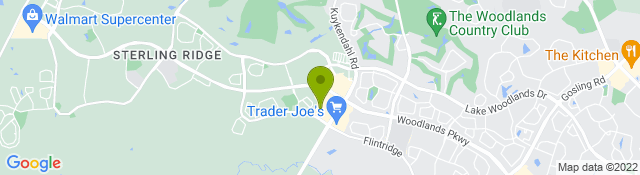 Map of Center for Veterinary Pain Management and Rehabilitation - Woodlands TX