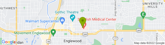 Map of Swedish Medical Center - Englewood CO