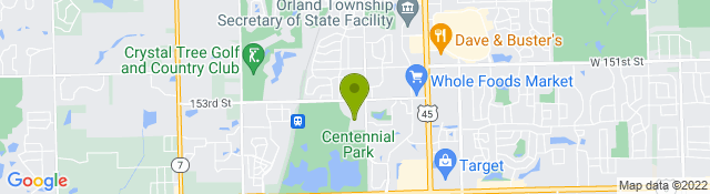 Map of Palos Health at Orland Park Health Fitness Center