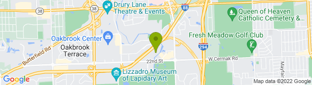 Map of Athletico - Oak Brook IL