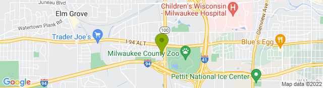 Map of Ascension Healthcare - Wauwatosa, WI