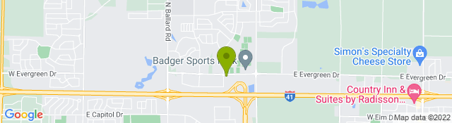 Map of Orthopedic & Spine Therapy - Appleton WI