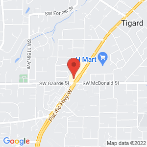 Google map link for Providence ExpressCare at Walgreens - Tigard