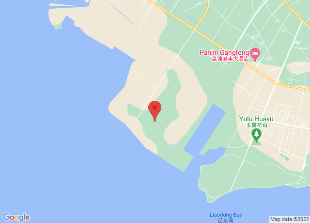 Map showing the location of Panjin