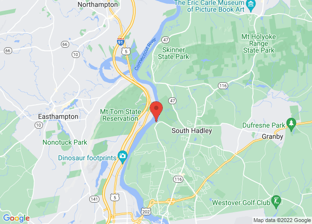 Map showing the location of Brunelle's