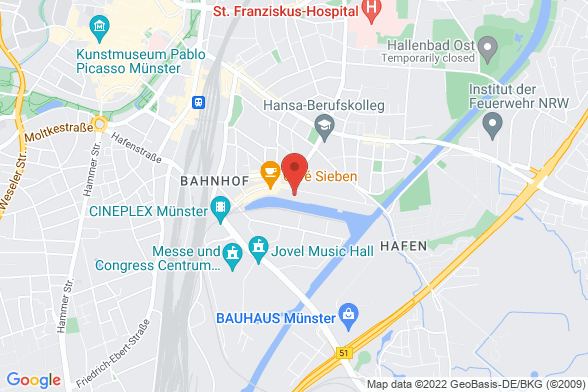 https://maps.googleapis.com/maps/api/staticmap?markers=color:red|48  48155 Münster&center=48  48155 Münster&zoom=14&size=588x392&key=AIzaSyBq_Y8YRNWV5l-KFo7MeT1QgfjIbI8vc3c