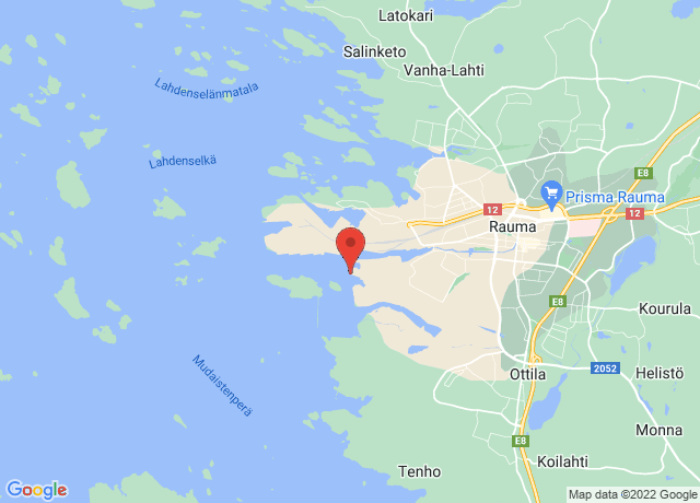 Map showing the location of Rauma
