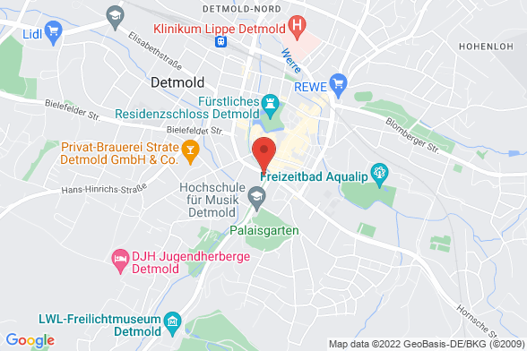 https://maps.googleapis.com/maps/api/staticmap?markers=color:red|Allee 1 32756 Detmold&center=Allee 1 32756 Detmold&zoom=14&size=588x392&key=AIzaSyBq_Y8YRNWV5l-KFo7MeT1QgfjIbI8vc3c