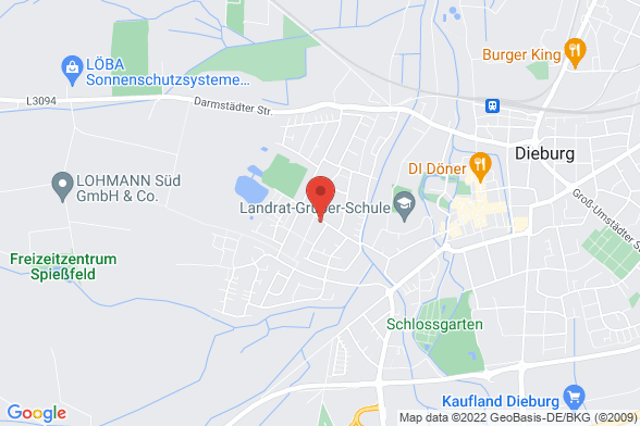 https://maps.googleapis.com/maps/api/staticmap?markers=color:red|Alte Mainzer Landstraße 32 64807 Dieburg¢er=Alte Mainzer Landstraße 32 64807 Dieburg&zoom=14&size=588x392&key=AIzaSyBq_Y8YRNWV5l-KFo7MeT1QgfjIbI8vc3c