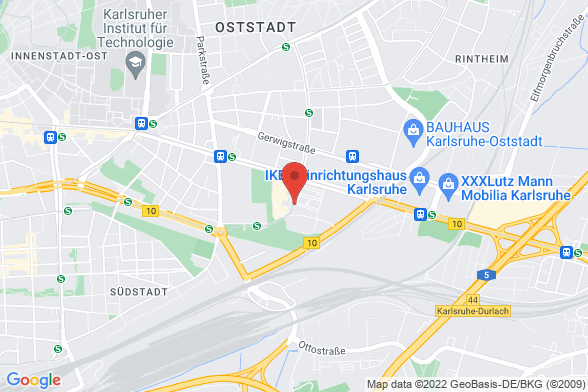 https://maps.googleapis.com/maps/api/staticmap?markers=color:red|Alter Schlachthof 45 76131 Karlsruhe¢er=Alter Schlachthof 45 76131 Karlsruhe&zoom=14&size=588x392&key=AIzaSyBq_Y8YRNWV5l-KFo7MeT1QgfjIbI8vc3c