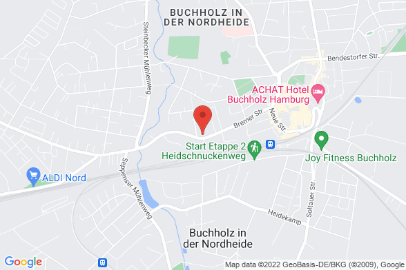 https://maps.googleapis.com/maps/api/staticmap?markers=color:red|Bremer Straße 45 21244 Buchholz&center=Bremer Straße 45 21244 Buchholz&zoom=14&size=588x392&key=AIzaSyBq_Y8YRNWV5l-KFo7MeT1QgfjIbI8vc3c