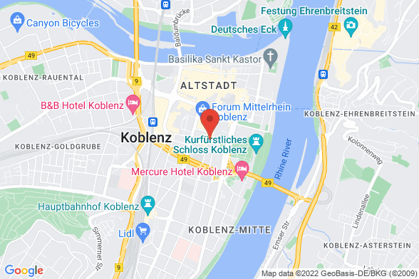 https://maps.googleapis.com/maps/api/staticmap?markers=color:red|Casinostraße 47 56068 Koblenz&center=Casinostraße 47 56068 Koblenz&zoom=14&size=588x392&key=AIzaSyBq_Y8YRNWV5l-KFo7MeT1QgfjIbI8vc3c