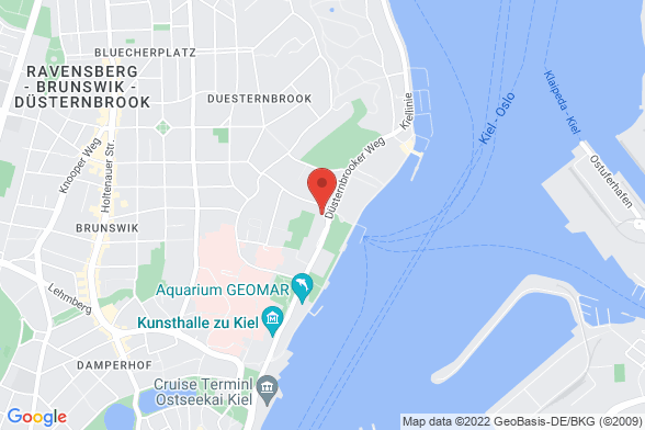 https://maps.googleapis.com/maps/api/staticmap?markers=color:red|Düsternbrooker Weg 71 24103 Kiel&center=Düsternbrooker Weg 71 24103 Kiel&zoom=14&size=588x392&key=AIzaSyBq_Y8YRNWV5l-KFo7MeT1QgfjIbI8vc3c