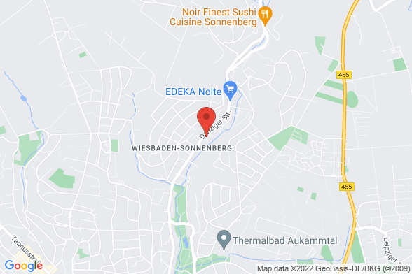 https://maps.googleapis.com/maps/api/staticmap?markers=color:red|Danziger Straße 64 65191 Wiesbaden&center=Danziger Straße 64 65191 Wiesbaden&zoom=14&size=588x392&key=AIzaSyBq_Y8YRNWV5l-KFo7MeT1QgfjIbI8vc3c