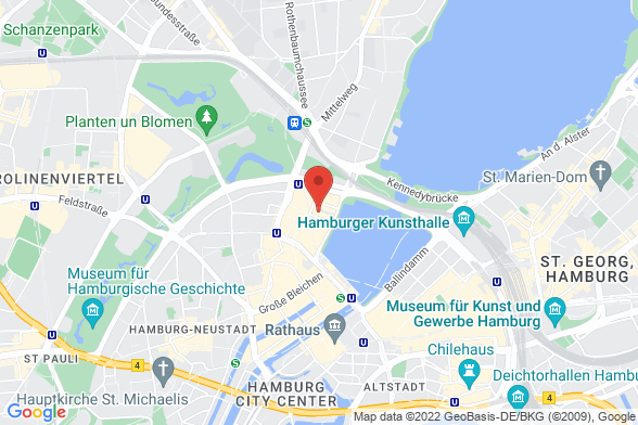 https://maps.googleapis.com/maps/api/staticmap?markers=color:red|Große Theaterstraße 42 20354 Hamburg&center=Große Theaterstraße 42 20354 Hamburg&zoom=14&size=588x392&key=AIzaSyBq_Y8YRNWV5l-KFo7MeT1QgfjIbI8vc3c
