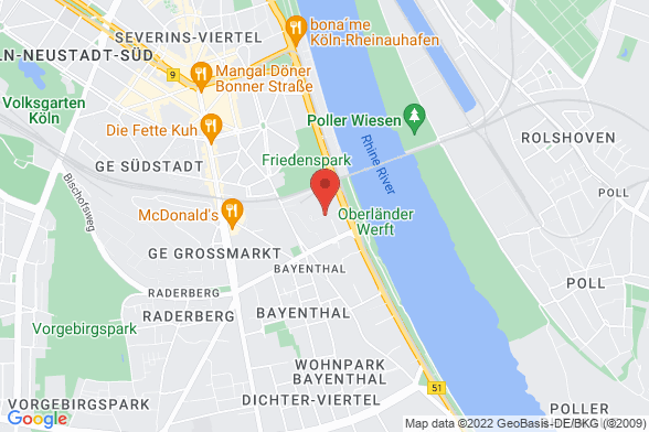 https://maps.googleapis.com/maps/api/staticmap?markers=color:red|Gustav-Heinemann-Ufer 58 50968 Köln&center=Gustav-Heinemann-Ufer 58 50968 Köln&zoom=14&size=588x392&key=AIzaSyBq_Y8YRNWV5l-KFo7MeT1QgfjIbI8vc3c