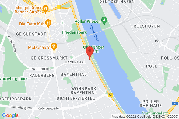 https://maps.googleapis.com/maps/api/staticmap?markers=color:red|Gustav-Heinemann-Ufer 88 50968 Köln&center=Gustav-Heinemann-Ufer 88 50968 Köln&zoom=14&size=588x392&key=AIzaSyBq_Y8YRNWV5l-KFo7MeT1QgfjIbI8vc3c