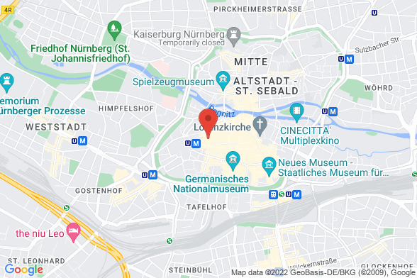 https://maps.googleapis.com/maps/api/staticmap?markers=color:red|Hefnersplatz 7 90402 Nürnberg&center=Hefnersplatz 7 90402 Nürnberg&zoom=14&size=588x392&key=AIzaSyBq_Y8YRNWV5l-KFo7MeT1QgfjIbI8vc3c
