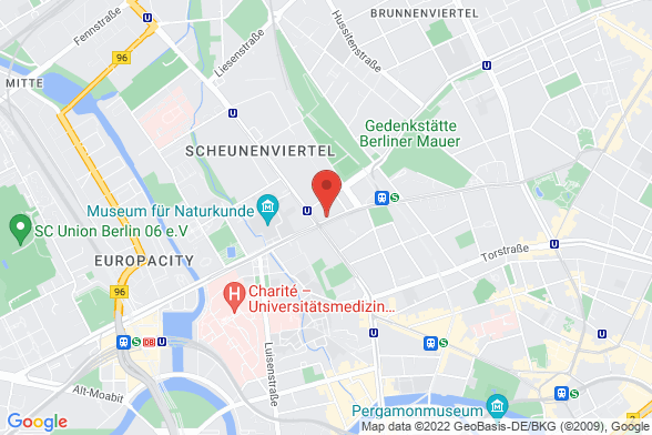 https://maps.googleapis.com/maps/api/staticmap?markers=color:red|Invalidenstraße 34 10115 Berlin&center=Invalidenstraße 34 10115 Berlin&zoom=14&size=588x392&key=AIzaSyBq_Y8YRNWV5l-KFo7MeT1QgfjIbI8vc3c