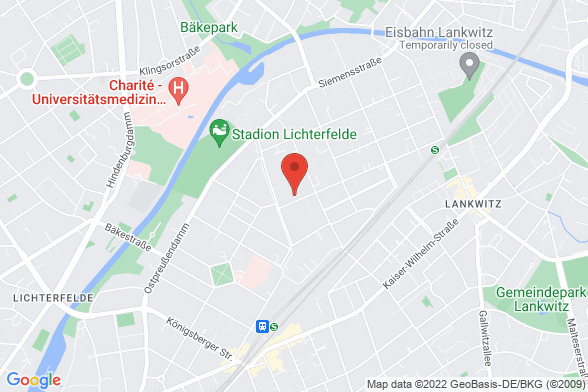 https://maps.googleapis.com/maps/api/staticmap?markers=color:red|Kaulbachstraße 6A 12247 Berlin&center=Kaulbachstraße 6A 12247 Berlin&zoom=14&size=588x392&key=AIzaSyBq_Y8YRNWV5l-KFo7MeT1QgfjIbI8vc3c