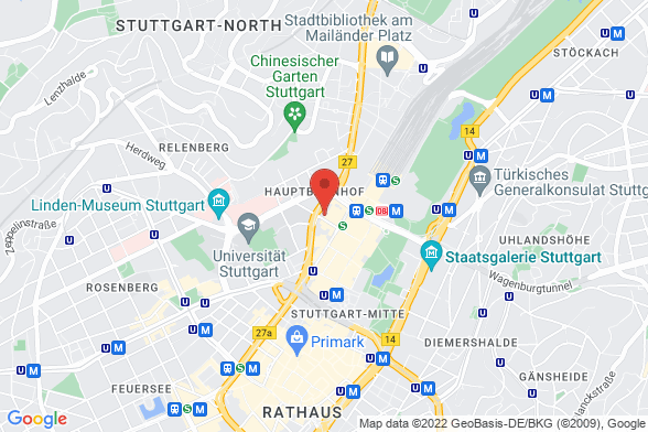 https://maps.googleapis.com/maps/api/staticmap?markers=color:red|Kronenstraße 24 70173 Stuttgart&center=Kronenstraße 24 70173 Stuttgart&zoom=14&size=588x392&key=AIzaSyBq_Y8YRNWV5l-KFo7MeT1QgfjIbI8vc3c