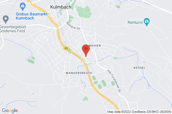 https://maps.googleapis.com/maps/api/staticmap?markers=color:red|Kurt-Schumacher-Straße 23 95326 Kulmbach&center=Kurt-Schumacher-Straße 23 95326 Kulmbach&zoom=14&size=588x392&key=AIzaSyBq_Y8YRNWV5l-KFo7MeT1QgfjIbI8vc3c