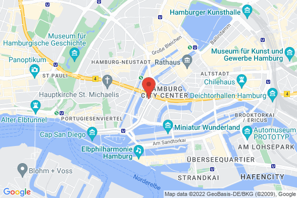 https://maps.googleapis.com/maps/api/staticmap?markers=color:red|Ludwig-Erhardt-Straße 1 20459 Hamburg&center=Ludwig-Erhardt-Straße 1 20459 Hamburg&zoom=14&size=588x392&key=AIzaSyBq_Y8YRNWV5l-KFo7MeT1QgfjIbI8vc3c