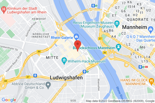 https://maps.googleapis.com/maps/api/staticmap?markers=color:red|Ludwigstrasse 73 67059 Ludwigshafen&center=Ludwigstrasse 73 67059 Ludwigshafen&zoom=14&size=588x392&key=AIzaSyBq_Y8YRNWV5l-KFo7MeT1QgfjIbI8vc3c