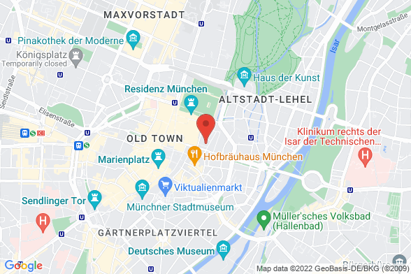 https://maps.googleapis.com/maps/api/staticmap?markers=color:red|Maximilianstraße 13 80539 München¢er=Maximilianstraße 13 80539 München&zoom=14&size=588x392&key=AIzaSyBq_Y8YRNWV5l-KFo7MeT1QgfjIbI8vc3c