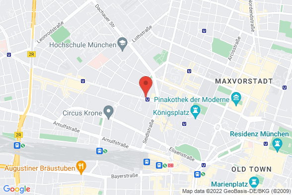 https://maps.googleapis.com/maps/api/staticmap?markers=color:red|Nymphenburger Straße 12 80335 München&center=Nymphenburger Straße 12 80335 München&zoom=14&size=588x392&key=AIzaSyBq_Y8YRNWV5l-KFo7MeT1QgfjIbI8vc3c