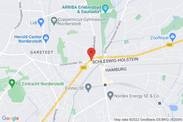 https://maps.googleapis.com/maps/api/staticmap?markers=color:red|Ohechaussee 9 22848 Norderstedt&center=Ohechaussee 9 22848 Norderstedt&zoom=14&size=588x392&key=AIzaSyBq_Y8YRNWV5l-KFo7MeT1QgfjIbI8vc3c