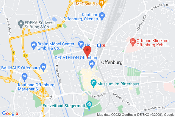 https://maps.googleapis.com/maps/api/staticmap?markers=color:red|Okenstraße 18 77652 Offenburg&center=Okenstraße 18 77652 Offenburg&zoom=14&size=588x392&key=AIzaSyBq_Y8YRNWV5l-KFo7MeT1QgfjIbI8vc3c