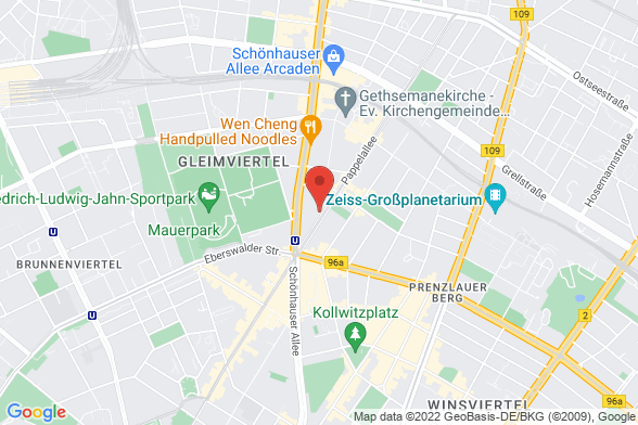https://maps.googleapis.com/maps/api/staticmap?markers=color:red|Pappelallee 78-79 10437 Berlin&center=Pappelallee 78-79 10437 Berlin&zoom=14&size=588x392&key=AIzaSyBq_Y8YRNWV5l-KFo7MeT1QgfjIbI8vc3c