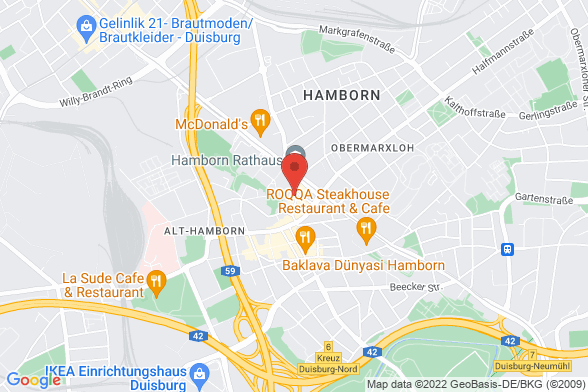 https://maps.googleapis.com/maps/api/staticmap?markers=color:red|Rathausstraße 18-20 47166 Duisburg&center=Rathausstraße 18-20 47166 Duisburg&zoom=14&size=588x392&key=AIzaSyBq_Y8YRNWV5l-KFo7MeT1QgfjIbI8vc3c