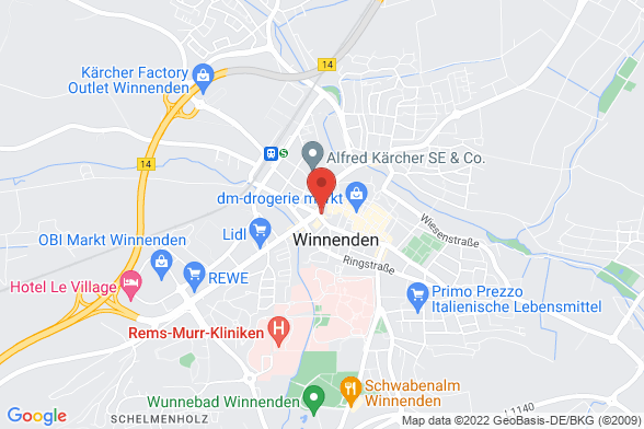 https://maps.googleapis.com/maps/api/staticmap?markers=color:red|Ringstraße 52 71364 Winnenden&center=Ringstraße 52 71364 Winnenden&zoom=14&size=588x392&key=AIzaSyBq_Y8YRNWV5l-KFo7MeT1QgfjIbI8vc3c