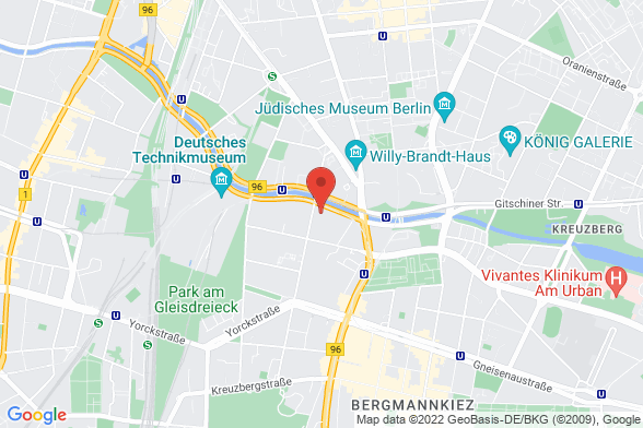 https://maps.googleapis.com/maps/api/staticmap?markers=color:red|Tempelhofer Ufer 11 10963 Berlin&center=Tempelhofer Ufer 11 10963 Berlin&zoom=14&size=588x392&key=AIzaSyBq_Y8YRNWV5l-KFo7MeT1QgfjIbI8vc3c