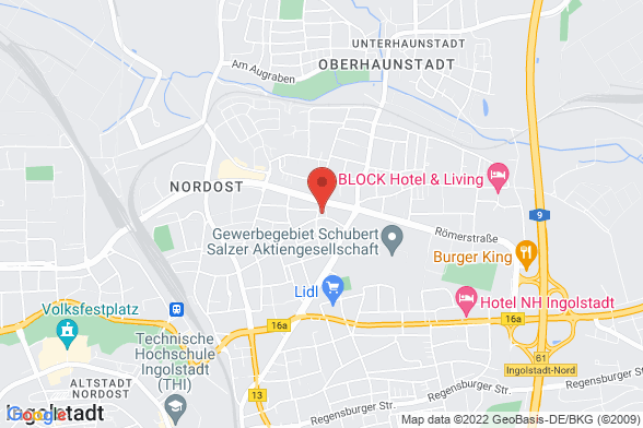 https://maps.googleapis.com/maps/api/staticmap?markers=color:red|Theodor-Heuss Straße 64    85055 Ingolstadt&center=Theodor-Heuss Straße 64    85055 Ingolstadt&zoom=14&size=588x392&key=AIzaSyBq_Y8YRNWV5l-KFo7MeT1QgfjIbI8vc3c