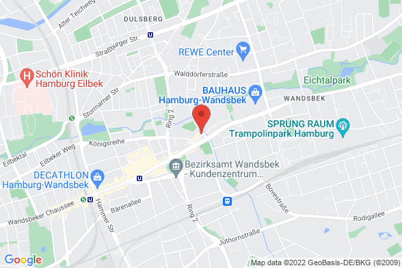 https://maps.googleapis.com/maps/api/staticmap?markers=color:red|Wandsbeker Zollstraße 19 22041 Hamburg&center=Wandsbeker Zollstraße 19 22041 Hamburg&zoom=14&size=588x392&key=AIzaSyBq_Y8YRNWV5l-KFo7MeT1QgfjIbI8vc3c